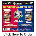 gemini restore a deck clearner diy atlanta georgia brightner